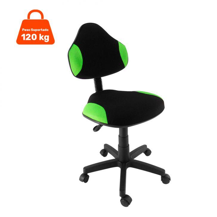 Cadeira de Escritório Verona Giratória Verde Claro
