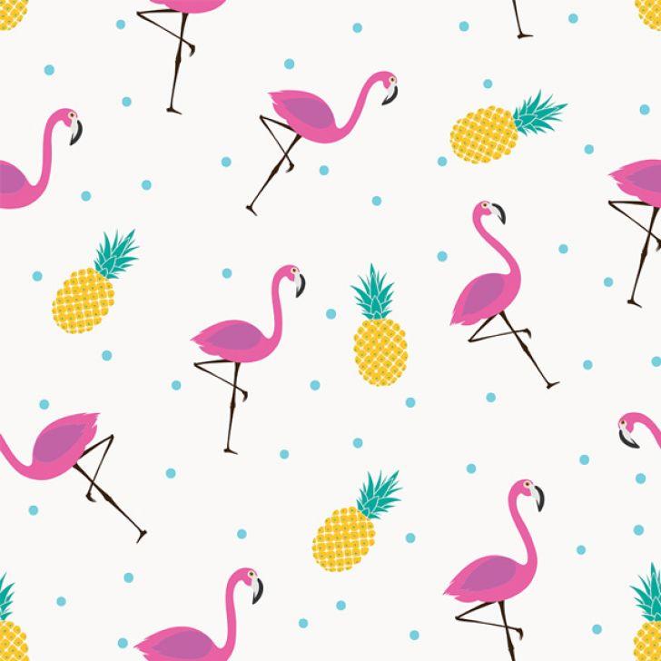 53973aac3 Papel de Parede Adesivo - Flamingos - 122ppv