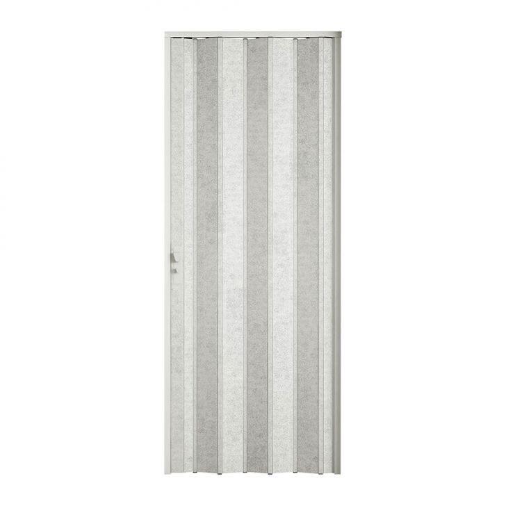Porta Sanfonada Com Fechadura Puntinato 096X210