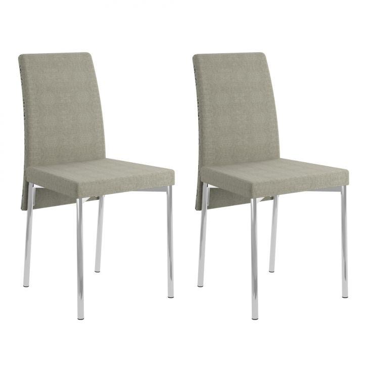 Conjunto 2 Cadeiras 0306 Savana Geométrico