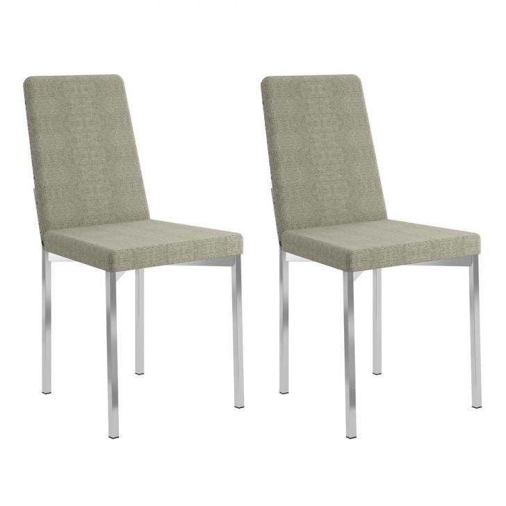 Conjunto 2 Cadeiras 0399 Savana Geométrico