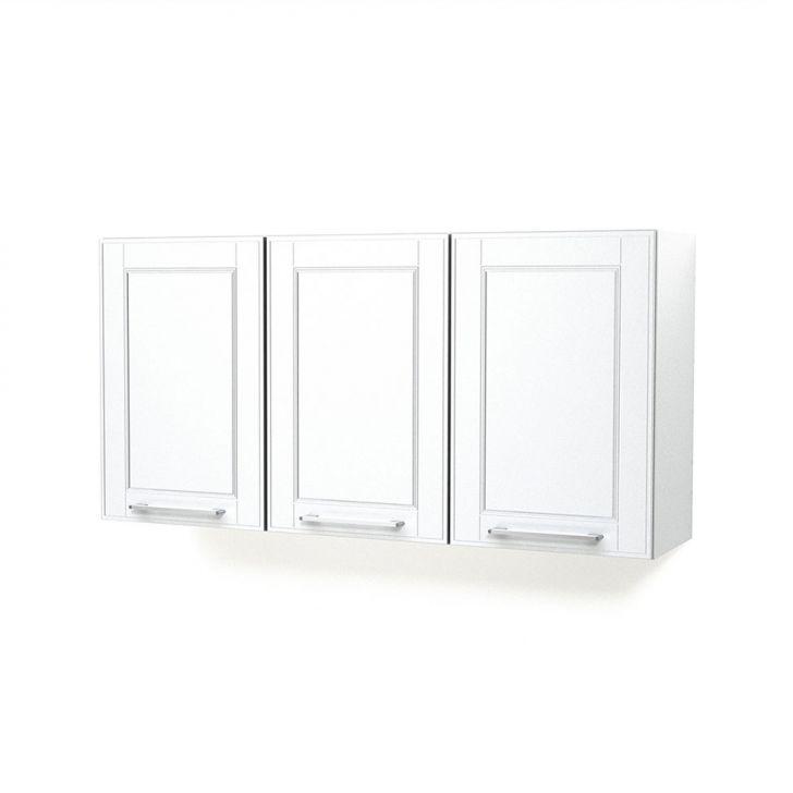 Armário Aéreo Play Aço 120x60 3 Portas Branco Sal Casamob