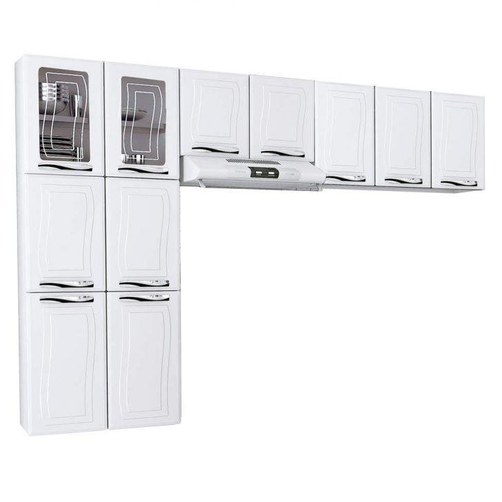 Cozinha Compacta Ipanema I 11 PT Branco