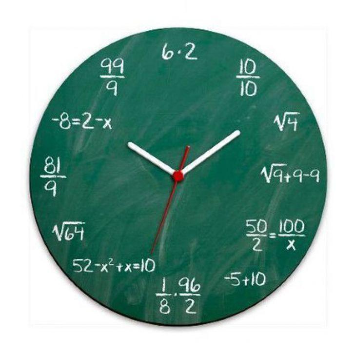 78479fc114a Relógio de Parede Geek Blackboard