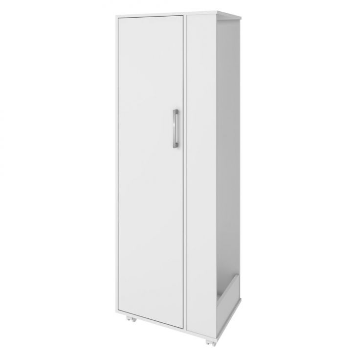 Armário Multiúso BL 180 BC 2 Portas Branco Completa Móveis