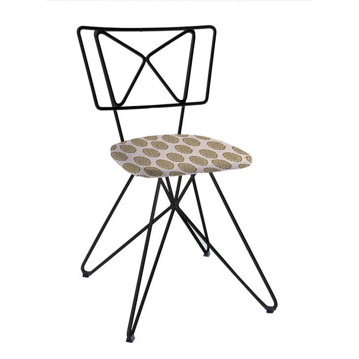 Cadeira Butterfly Aço Preto C14