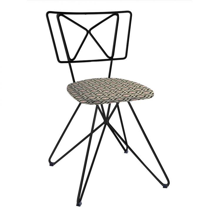 Cadeira Butterfly Aço Preto C18