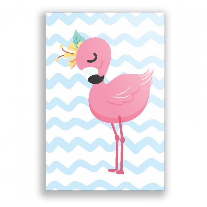 Placa Decorativa Flamingo Ps257