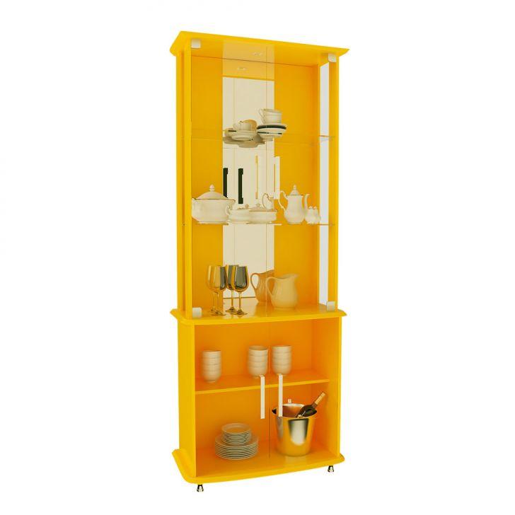 4e3dfbbdeb0 Cristaleira Luxo 4 PT Amarela