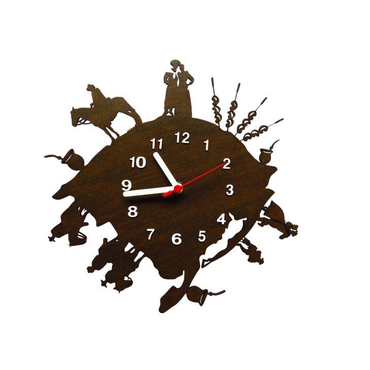e181281f4a7 Relógio de Parede Decorativo - Modelo Mundo Gaúcho