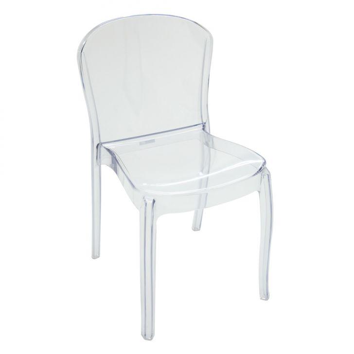 Cadeira Anna Transparente Tramontina