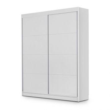 Guarda-Roupa Solteiro Premium 2 PT 3 GV Branco