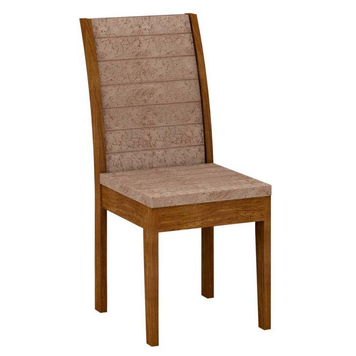 Cadeira Aurora Ypê Suedi Amassado Chocolate