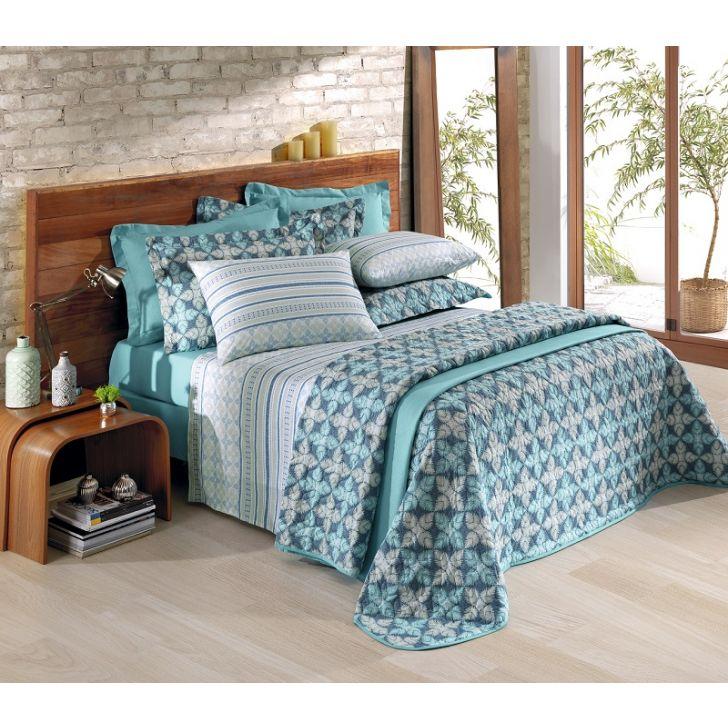 b61f941430 Jogo de cama Solteiro Santista 150 fios 100% algodão - Hernandez