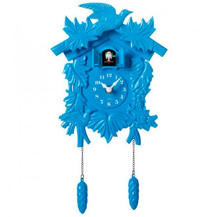 aa9a943f29b Relógio Cuco Azul