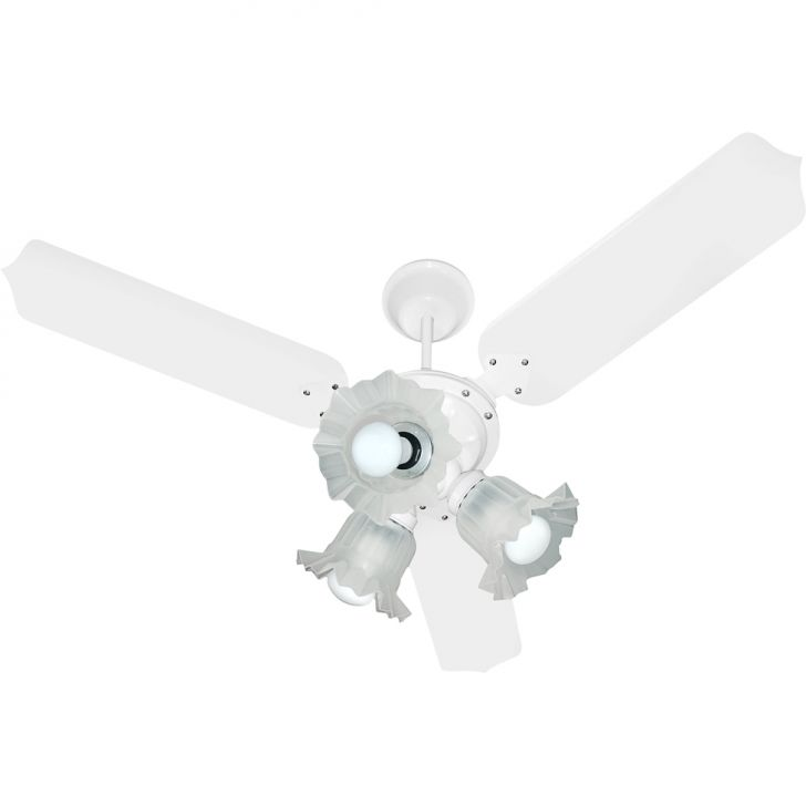 Ventilador de Teto Paris 1373 110/127V 3P Clm At Branco 138,7 W BRANCO