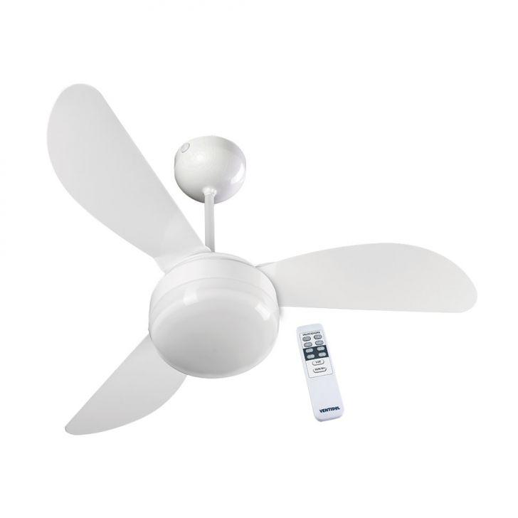 Ventilador de Teto Ventisol Fênix Branco com controle remoto 127V