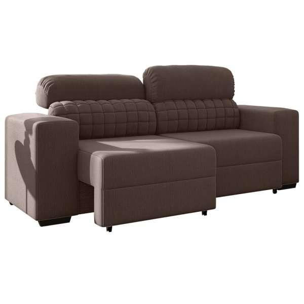 Outstanding Sofa 3 Lugares Retratil E Reclinavel Straus Cafe Mobly Cjindustries Chair Design For Home Cjindustriesco