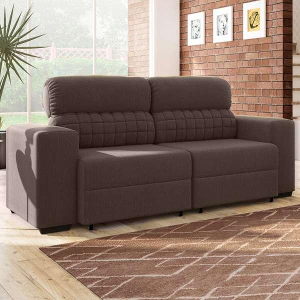 Miraculous Sofa 3 Lugares Retratil E Reclinavel Straus Cafe Mobly Cjindustries Chair Design For Home Cjindustriesco