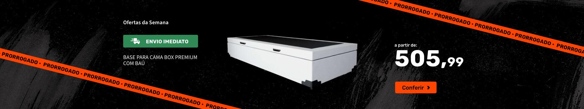 Base para Cama Box Premium com Baú