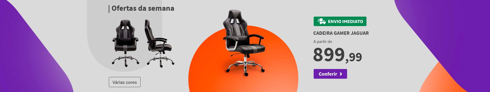 Cadeira Gamer Jaguar - Ofertas especiais