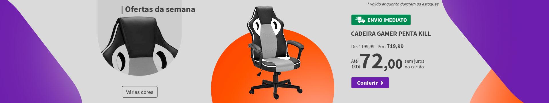 Cadeira Gamer Penta Kill - Ofertas da semana