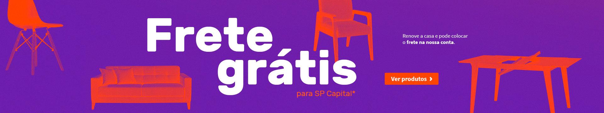 Frete Grátis para SP Capital