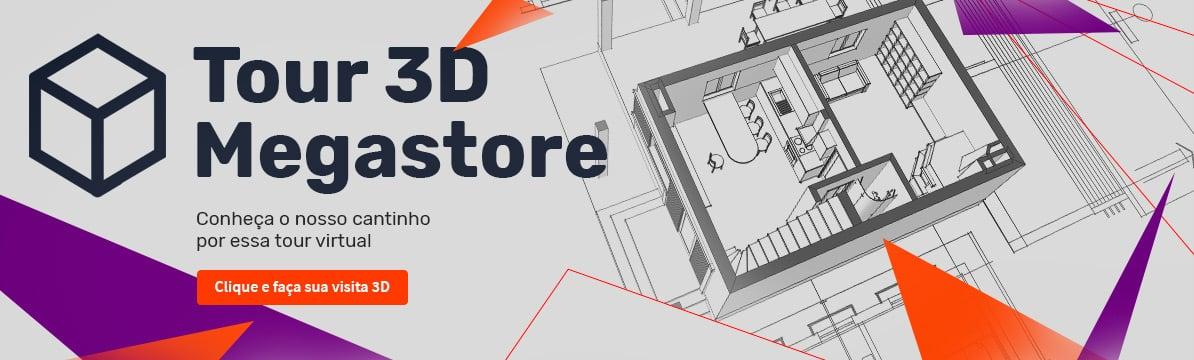 Tour 3D Megastore - Conheça o nosso cantinho por essa tour virtual - clique e faça sua visita 3D