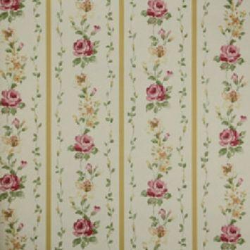 Papel de Parede Fragrant Roses FA811040 Vinílico com Estampa contendo Floral, Listrado, Provençal DESCONTO DE R$: 23,01 (9,67% OFF) - OFERTA MOBLY