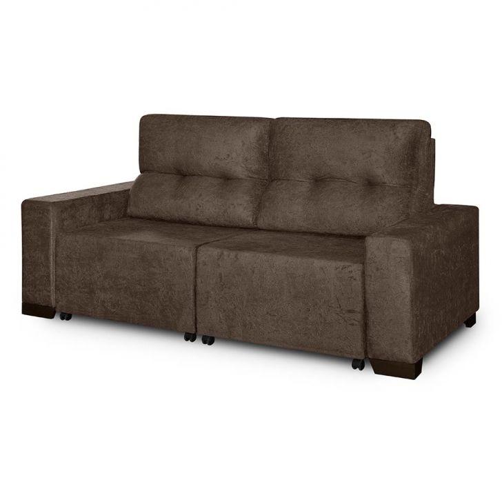 Sof 3 lugares retr til e reclin vel elegance suede for Sofa 4 lugares retratil e reclinavel caravaggio suede amassado marrom