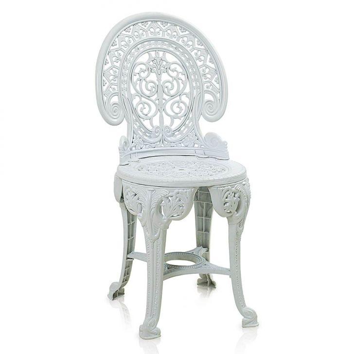 Cadeira de Plástico Colonial Branca Antares