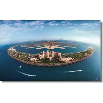 Quadros Descorativos Cidade de Dubai 1 peça m2 DESCONTO DE R$: 14,01 (9,47% OFF) - OFERTA MOBLY