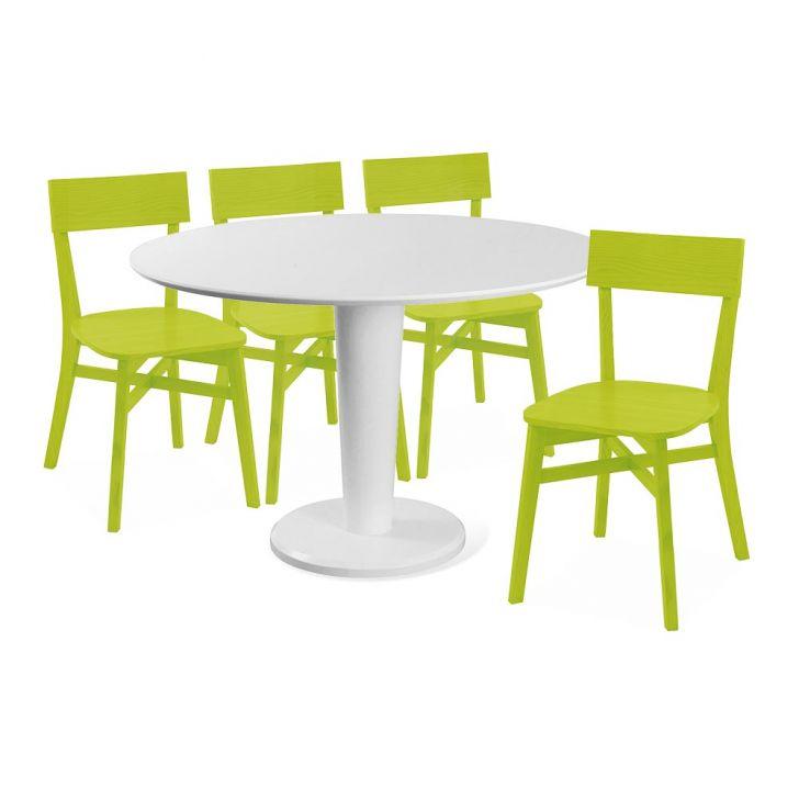 Conjunto sala de jantar com mesa yaffa e 4 cadeiras bina for Sala 2 conjunto de artes escenicas