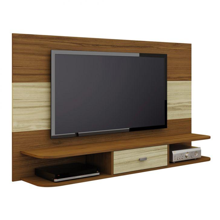 Painel para TV 47 Polegadas Studio Amêndoa e Capuccino 160 cm