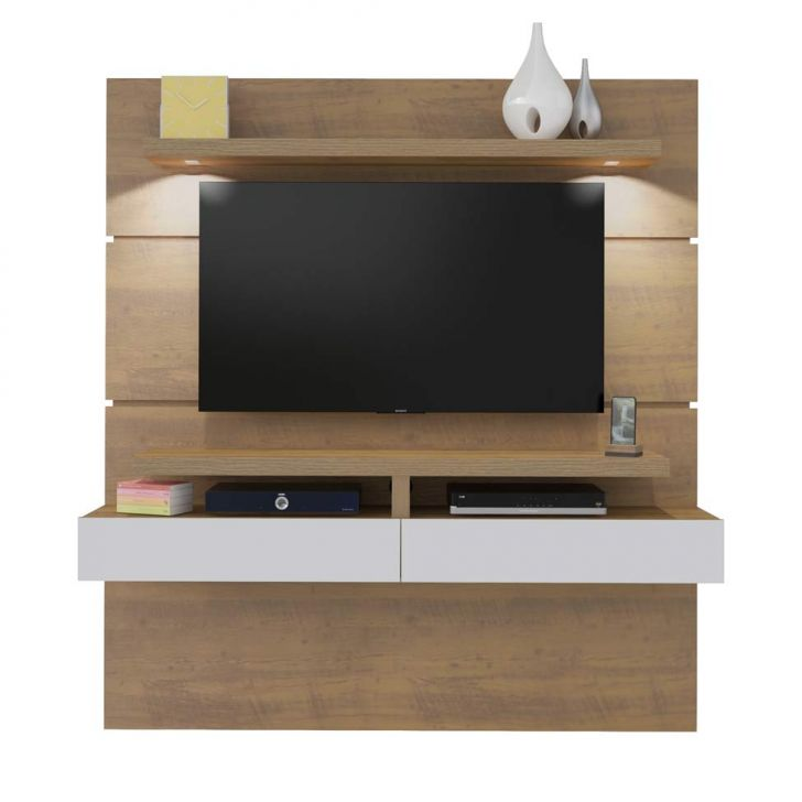 painel para tv 47 polegadas york 180 cm pinho. Black Bedroom Furniture Sets. Home Design Ideas