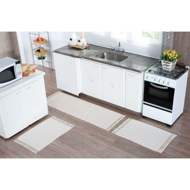 Tapete de Cozinha Natural 50x150 Natural 205