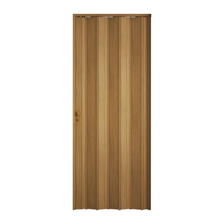 Porta Sanfonada Com Fechadura Cerejeira 096X210