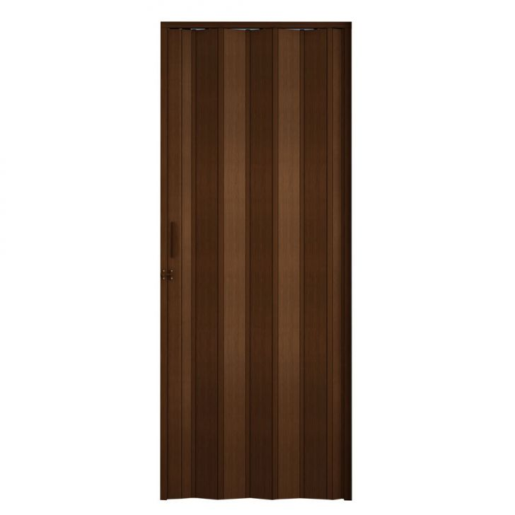 Porta Sanfonada Com Trinco Imbuia 072X210