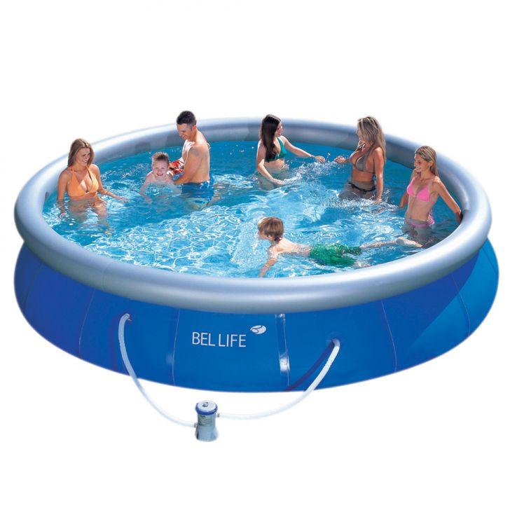 Piscina bel fix litros azul 220v for Calcular litros piscina
