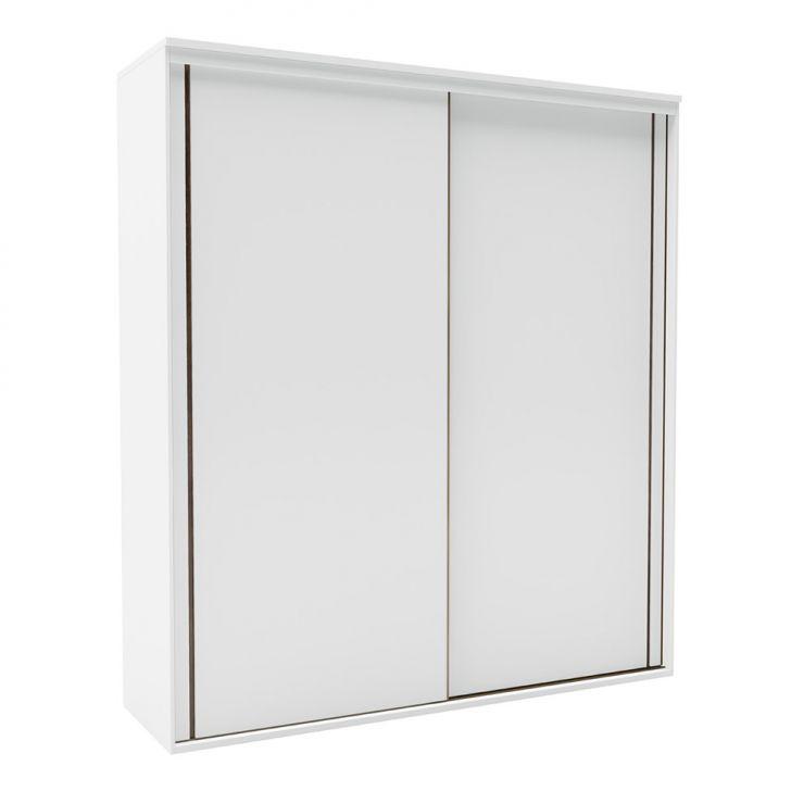 Guarda-Roupa Casal Inovatto 2 PT 2 GV Branco