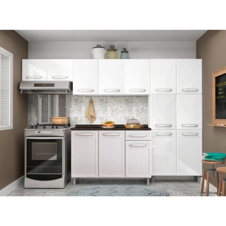 Cozinha Completa Evidence III 14 PT 1 GV Branco