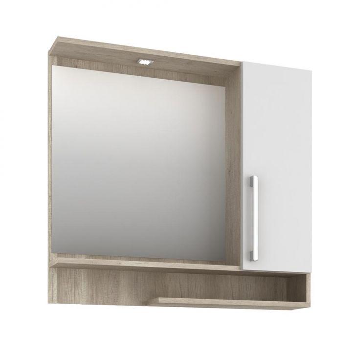 Foto 4 - Conjunto para Banheiro Brisa Barrique e Branco