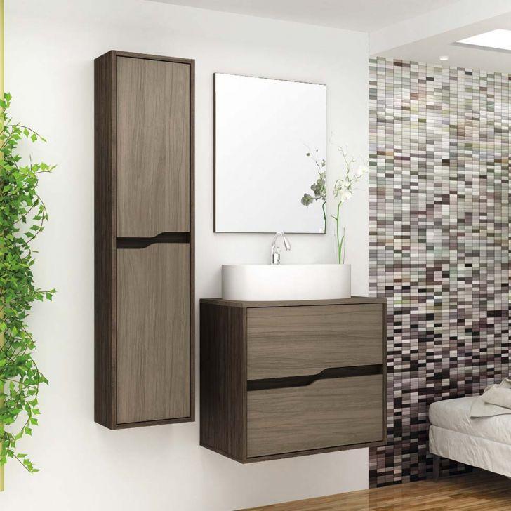 Foto 1 - Conjunto para Banheiro Dubai Ameixa Negra e Cris Montano