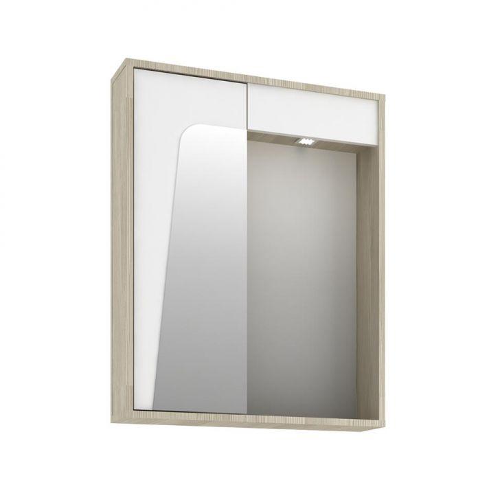 Foto 4 - Conjunto para Banheiro Elisa I Taeda e Branco