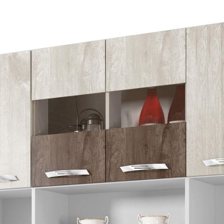 Foto 4 - Cozinha Compacta Ônix 8 PT 2 GV Champanhe e Chocolate