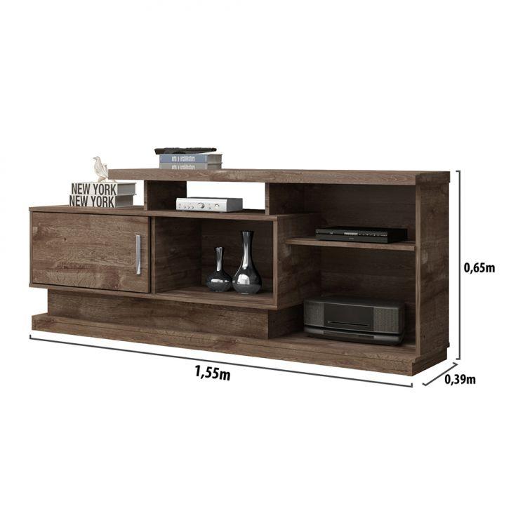 rack cama ari chocolate 155 cm. Black Bedroom Furniture Sets. Home Design Ideas