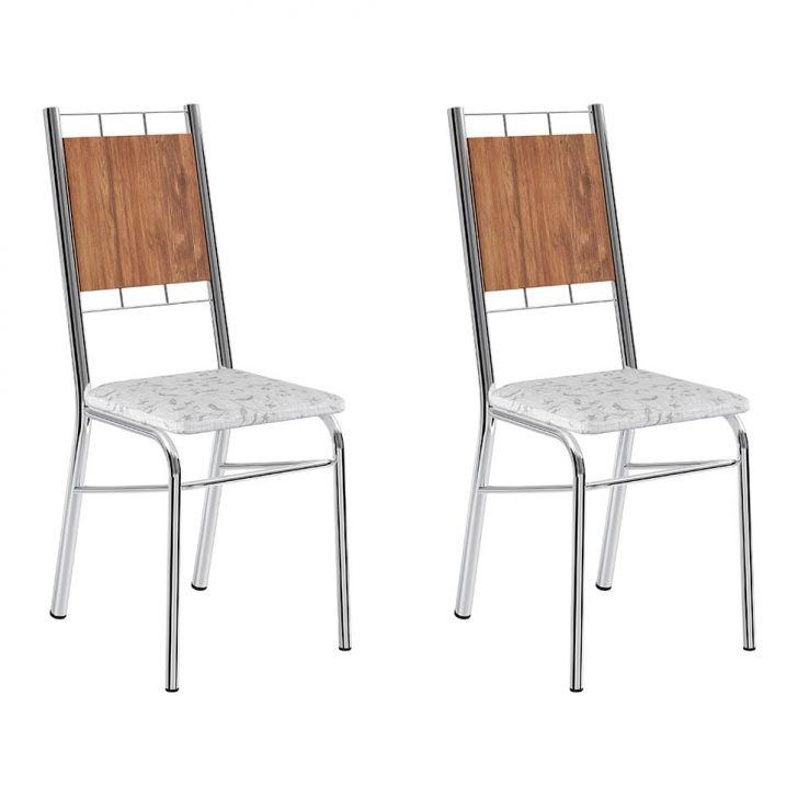Conjunto com 2 Cadeiras Wos II Branco 2e22e1cc270