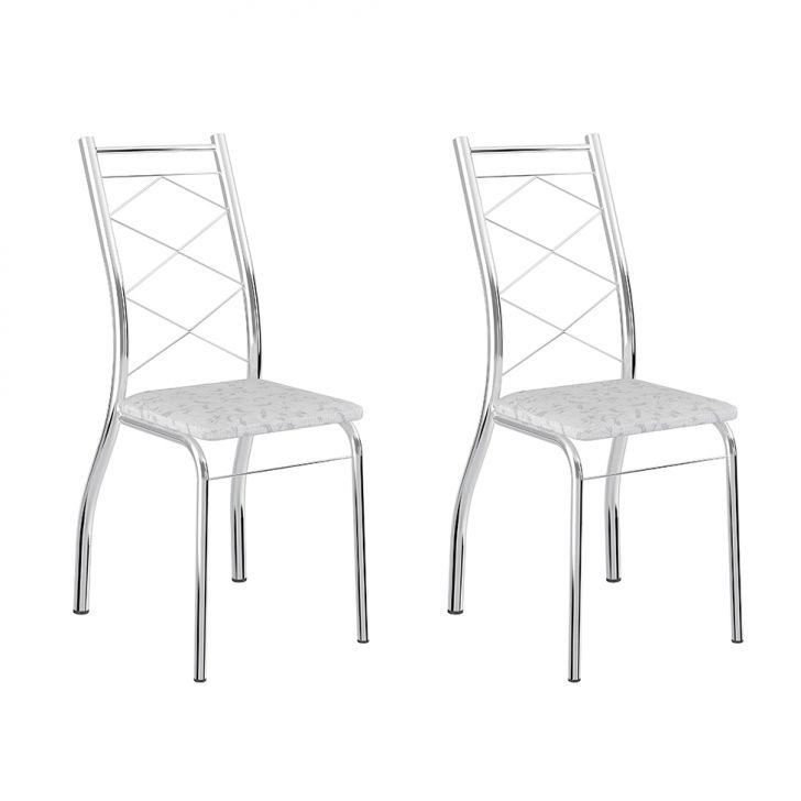 Conjunto 2 Cadeiras 1710 Fantasia Branco