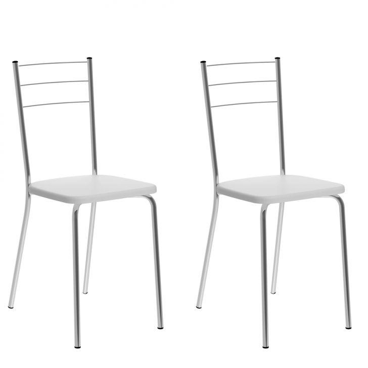 Conjunto de 2 Cadeiras Cipotanea I Branco