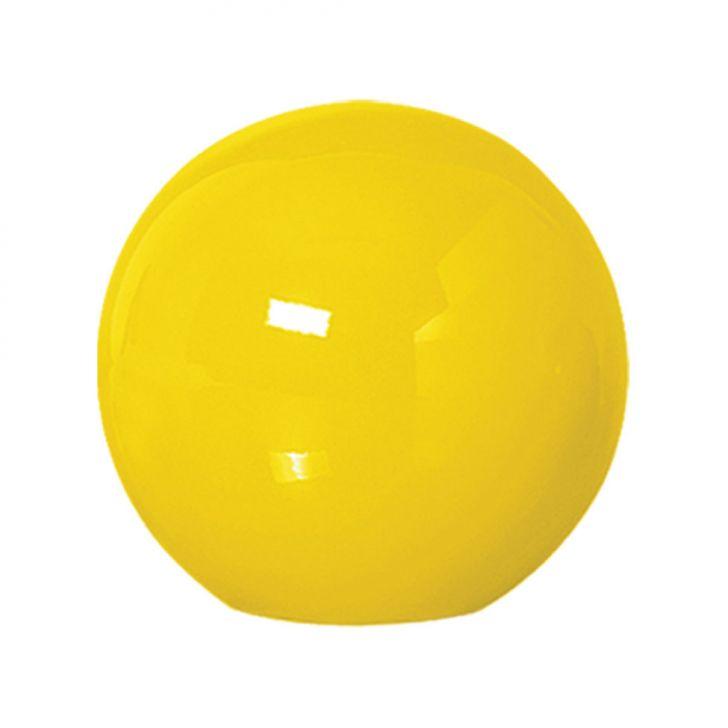 Bola de Mesa Médio Amarelo Brilho